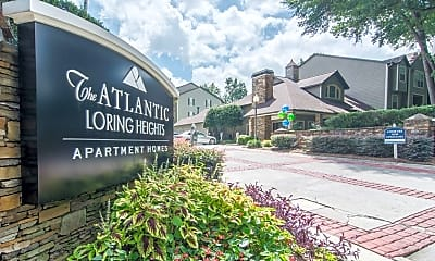 Community Signage, The Atlantic Loring Heights, 2