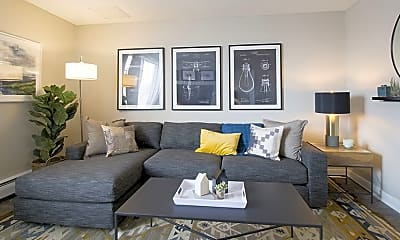 Living Room, The Scott at East Village, 0