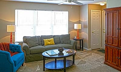 Living Room, Waterbrook Apartments, 1