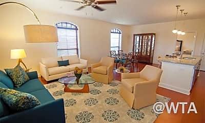 Living Room, 17803 La Cantera, 1