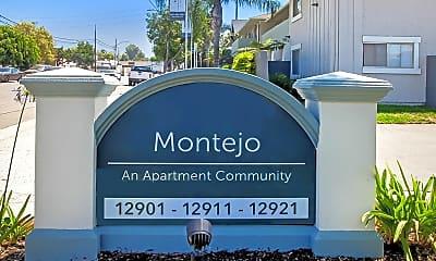 Community Signage, Montejo Apartments, 1