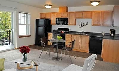 Kitchen, The Waterford Apartments, 2