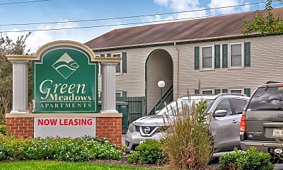 Community Signage, Green Meadows Apartments, 0