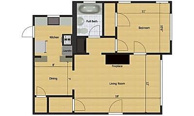 Building, 4903 Worth St, 2