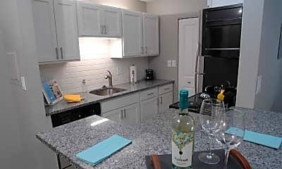 Kitchen, Troy Place, 1