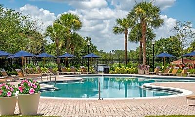 Pool, Harbortown Luxury Apartments, 1