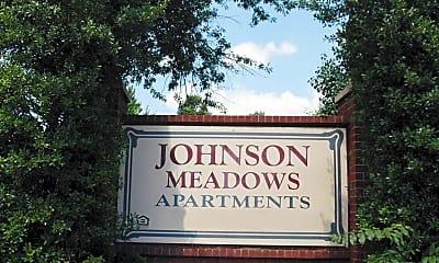 Community Signage, Johnson Meadows, 2
