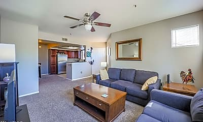 Living Room, 4925 E Desert Cove Ave 343, 1