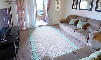 Living Room, Colusa Del Rey Apartments, 1