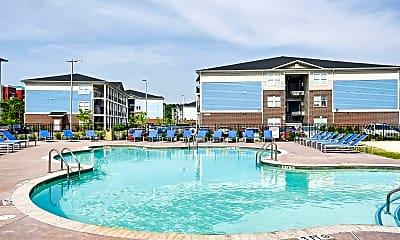 Pool, Coastal Club - Per Bed Leases, 2