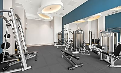 Fitness Weight Room, 465 N Park Dr 409, 2