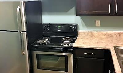 Kitchen, Meadow View Apartments, 1