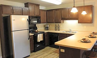 Kitchen, Renaissance Heights Apartments, 0