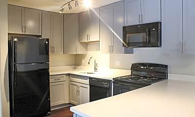 Kitchen, Fieldpointe Apartments, 1