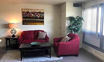 Living Room, Riverbend Apts, 2