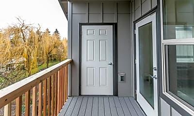 Patio / Deck, Mist Wood Apartments, 2