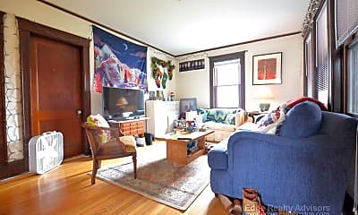 Living Room, 53 Hunnewell Ave, 1