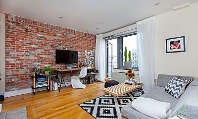 Living Room, 636 E 11th St 3B, 1