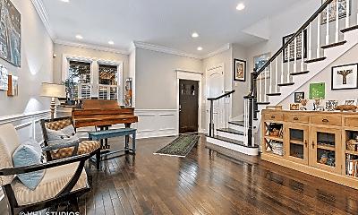 Living Room, 1743 N Troy St, 1