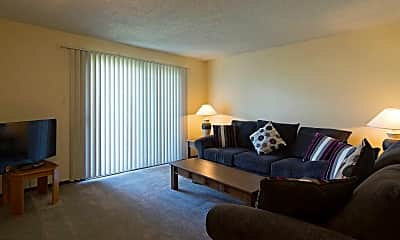 Living Room, Sophie Plaza Apartments, 1
