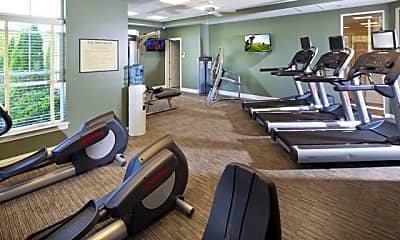 Fitness Weight Room, The Apartments at Charlestown Crossing, 1