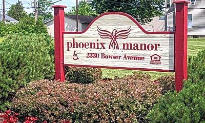 Community Signage, Phoenix Manor, 2