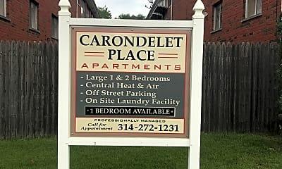 Carondelet Place, 1