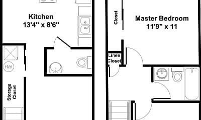 Building, 509 Potomac Dr, 1