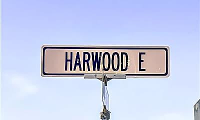 Community Signage, 1063 Harwood E 1063, 2