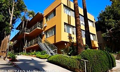 Building, 7459 Hollywood Blvd, 0