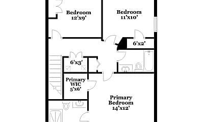 Bedroom, 3109 Forrestal Dr, 2
