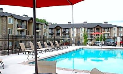 Pool, Eastgate at Greyhawk Apartments, 2
