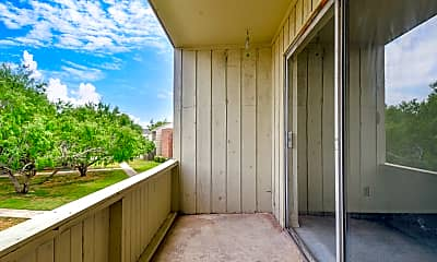 Patio / Deck, Westcliff Apartments, 2