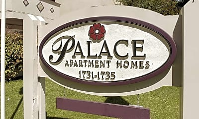 Community Signage, Palace Apartment Homes, 2