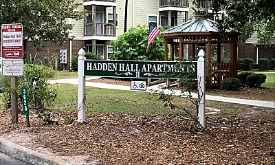 Hadden Hall, 1