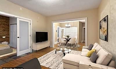 Living Room, 1204 Harmon Pl 12, 1