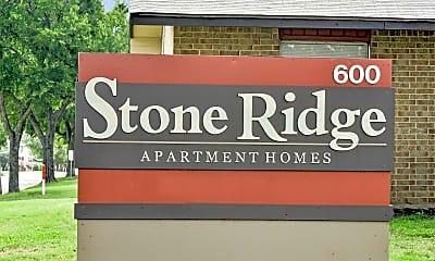 Community Signage, Stone Ridge, 2