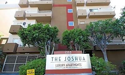 Community Signage, The Joshua Apts, 2