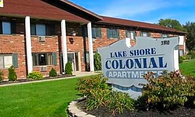 Lakeshore Colonial Apartments, 0
