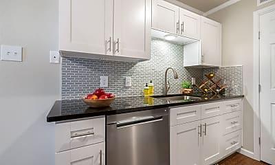 Kitchen, Blanco Oaks Apartments, 1
