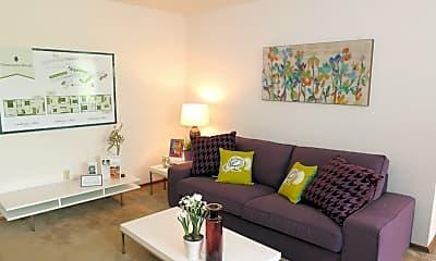 Living Room, Clearpointe Woods, 1
