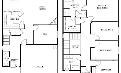 Bedroom, 5035 NE 126th Ave, 2