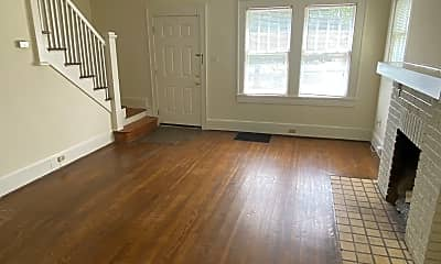 Living Room, 2337 E. 5th Street, 1