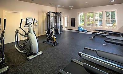Fitness Weight Room, River Quarry, 2