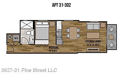 3931 Pine Street, 2