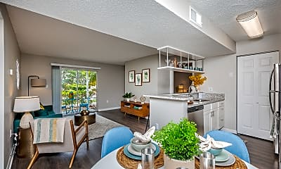 Living Room, Atwater at Westchase, 2