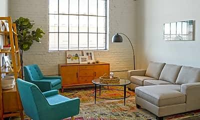 Living Room, The Brightleaf Building, 1