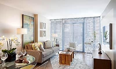 Living Room, 440 K St NW, 1