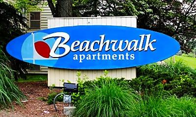 Community Signage, Beachwalk, 1