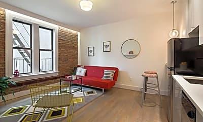 Living Room, 48 W 138th St 4-D, 0